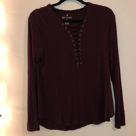 American Eagle Outfitters Tops - Long sleeve shirt